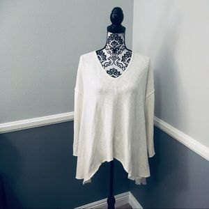 Forever 21 White Long Sleeve Top!